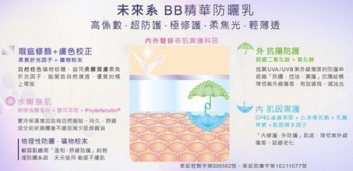Naruko Narcissus DNA Repairing BB Sunscreen SPF50 PA+++ | Naruko | My Styling Box