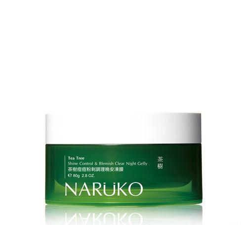 Naruko Tea Tree Shine Control & Blemish Clear Sleeping Night Gelly Mask | Naruko | My Styling Box