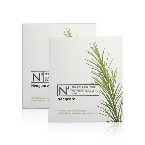 Neogence N3 Tea Tree Purifying Mask - 8 PCS/BOX | Neogence | My Styling Box
