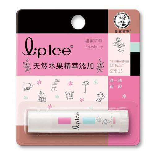 Rohto Mentholatum Lip Ice Moisturizing Lip Balm SPF15 - Strawberry | Rohto Mentholatum | My Styling Box