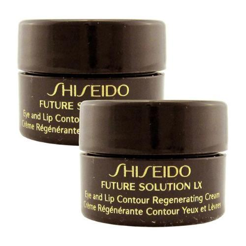 Shiseido Future Solution LX Eye and Lip Contour Regenerating Cream - 2.5ml x 2 Travel Size | Shiseido | My Styling Box