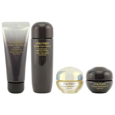 Shiseido Future Solution LX Travel Set - 4 PCS Travel Size-Shiseido | My Styling Box