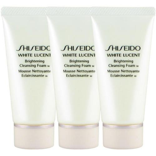 Shiseido White Lucent Brightening Cleansing Foam - 50ml x 3 Travel Size-Shiseido | My Styling Box