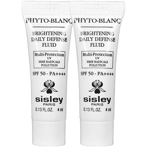 Sisley Phyto-Blanc Brightening Daily Defence Fluide SPF50 PA ++++ - 4ml x 2 Travel Size | Sisley | My Styling Box