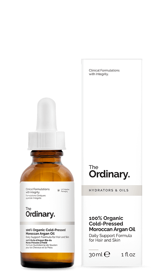 The Ordinary 100% Organic Cold-Pressed Moroccan Argan Oil | The Ordinary | My Styling Box