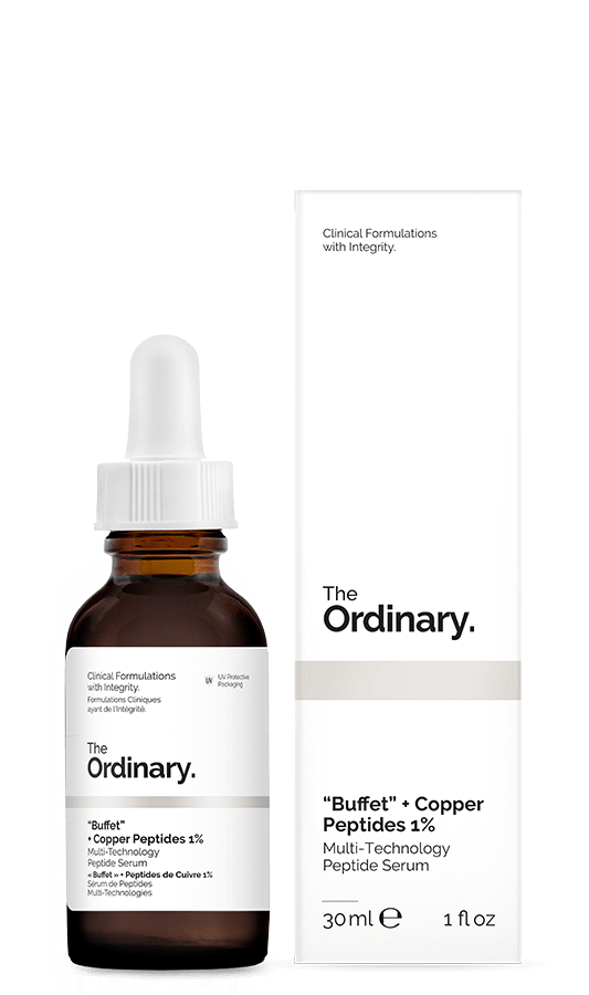 "The Ordinary ""Buffet"" + Copper Peptides 1% 