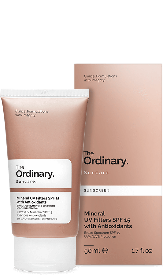 The Ordinary Mineral UV Filters SPF 15 with Antioxidants | The Ordinary | My Styling Box