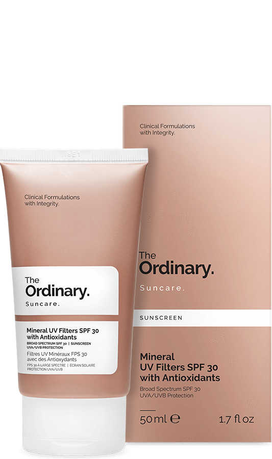 The Ordinary Mineral UV Filters SPF 30 with Antioxidants | The Ordinary | My Styling Box