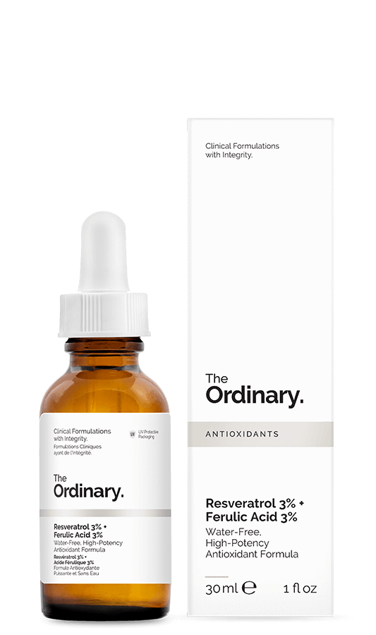 The Ordinary Resveratrol 3% + Ferulic Acid 3% | The Ordinary | My Styling Box