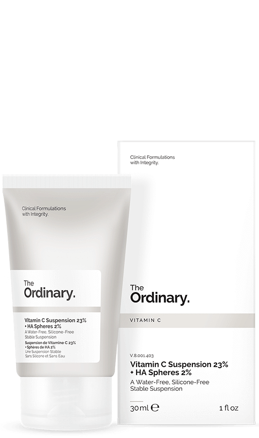 The Ordinary Vitamin C Suspension 23% + HA Spheres 2% | The Ordinary | My Styling Box