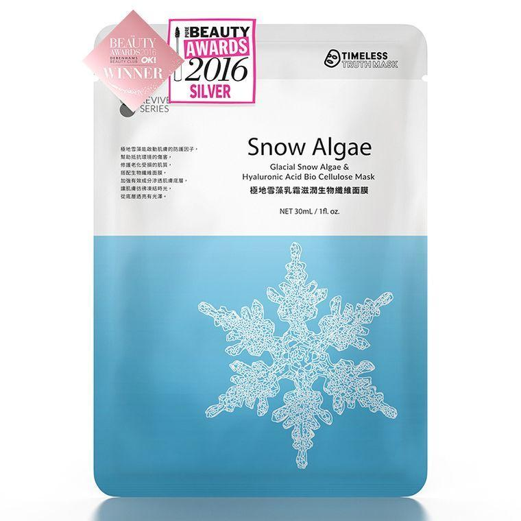 Timeless Truth Glacial Snow Algae & Hyaluronic Acid Bio Cellulose Mask-Timeless Truth | My Styling Box