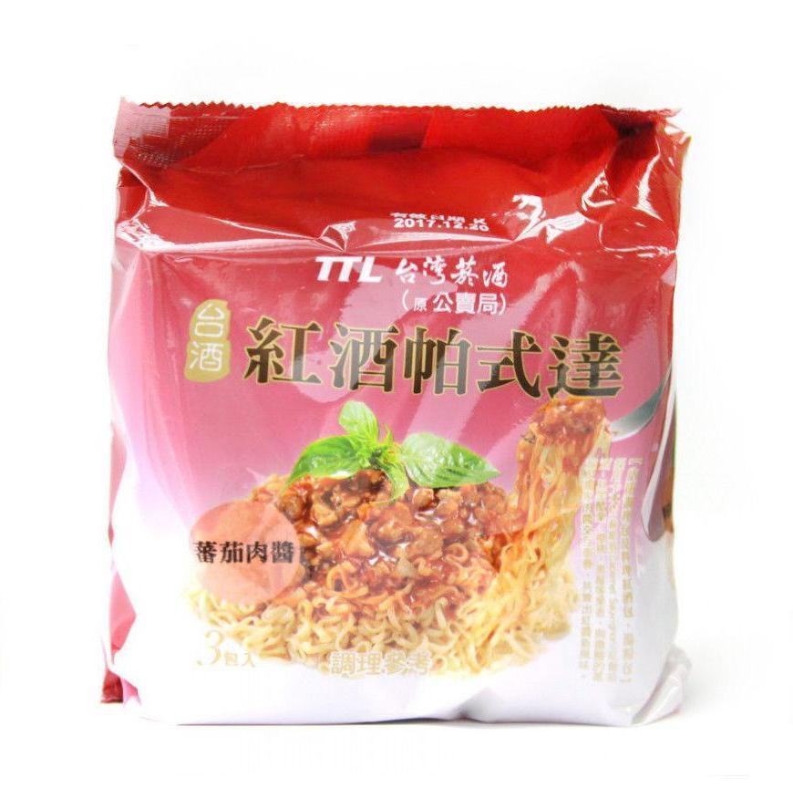 TTL Taiwan Bolognese Red Wine Sauce Instant Noodle - 3 Packs/BAG | TTL | My Styling Box