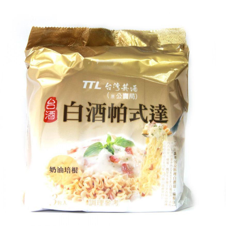 TTL Taiwan Carbonara White Wine Sauce Instant Noodle - 3 Packs/BAG | TTL | My Styling Box