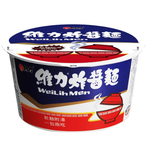Wei Lih Jah Jan Mien Instant Noodles With Fried Soybeans Paste - Bowl | Wei Lih | My Styling Box