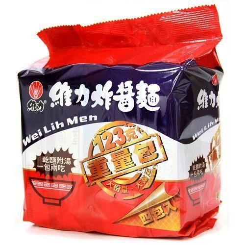 Wei Lih Jah Jan Mien Instant Noodles With Fried Soybeans Paste Large Size- 4 Bags/Pack | Wei Lih | My Styling Box