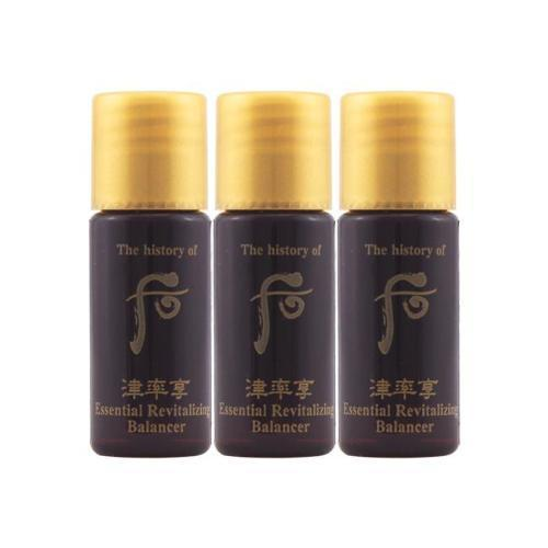 Whoo Jinyulhyang Essential Revitalizing Balancer - 5.5ml x 3 Travel Size | The History of Whoo | My Styling Box