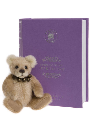 Bear-illiant Plush Miniature Charlie Bears Hug Book Collection