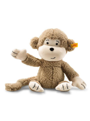 Brownie Steiff Large 40cm Soft & Cuddly Friends Children's Monkey Teddy Bear