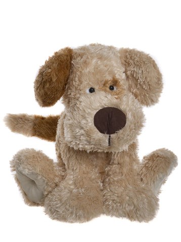 Chunky Plush Puppy Dog Alice's Bear Shop Plush Teddy Bear