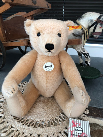 Amadeus Steiff Classics Collectors 35cm Blond Mohair Teddy Bear