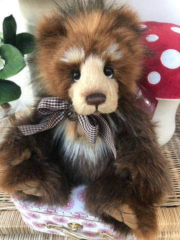 Pipe Dream Isabelle Collectable Limited Edition Mohair Teddy Bear No 50 of only 200 pieces worldwide.