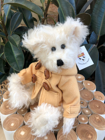 Wooster Fully Jointed Mohair Handmade 34cm Collectable Teddy Bear
