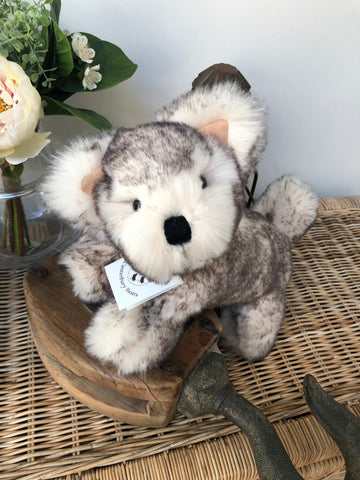 Husky Soft Plush Handmade Puppy Dog