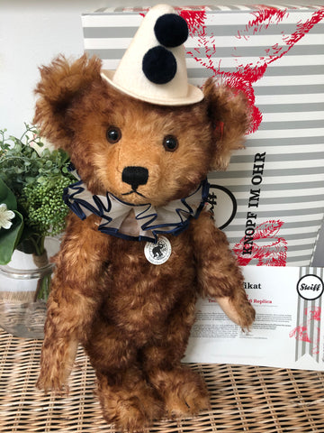 1926 Clown Replica Steiff 40cm Limited Edition Mohair Teddy Bear No 622