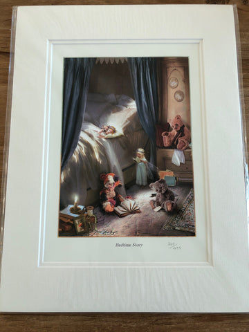 Bedtime Story Limited Edition Wall Art Print