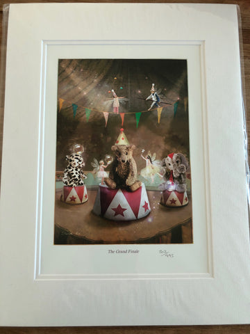 Grand Finale Limited Edition Wall Art Print