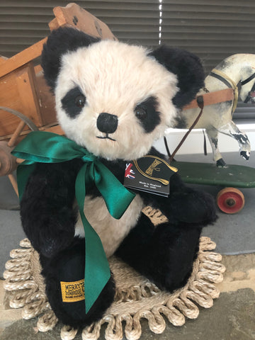 Antique Panda 14 Inch Merrythought Teddy Bear Handmade in the UK