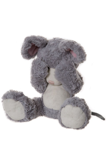 Mischief Alice's Bear Shop Plush Peek a Boo Teddy Bear Mouse