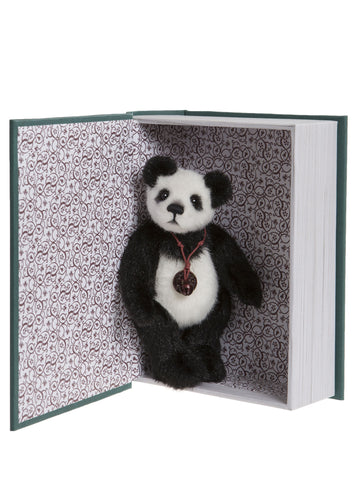Snuggleability Plush Miniature Charlie Bears Hug Book Collection