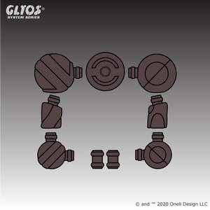 Axis Joint Set Glylorian Brown