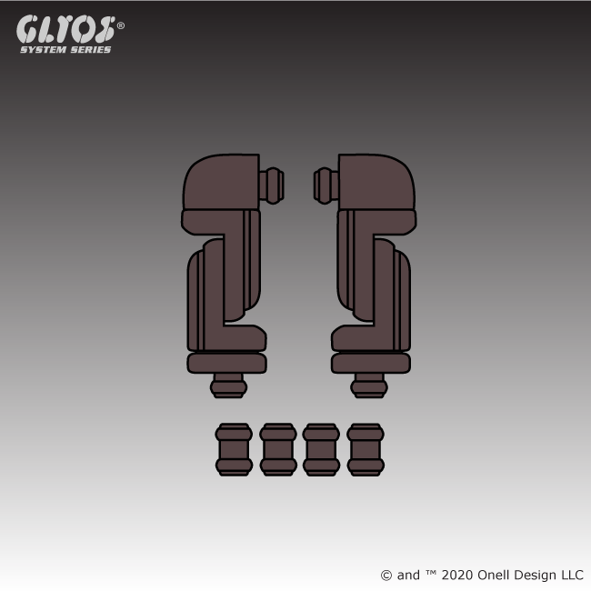Swing Joint Set Glylorian Brown