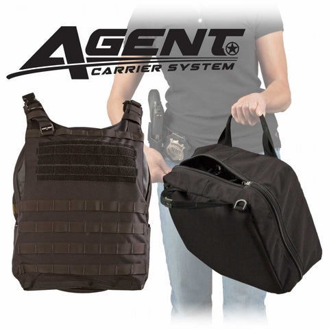 AGENT Ballistic Vest, Carrier Only