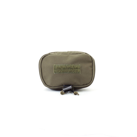4x6 Zippered Med Pouch - Ranger Green