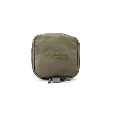 6x6 Zippered Med Pouch - Ranger Green