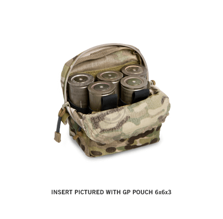 GP Pouch 6x6x3 40mm Insert