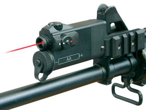 AR-2A Laser with Tactical Light Mount