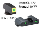 GLOCK CAP LE SETS