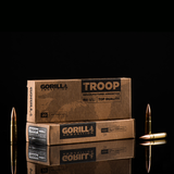 Gorilla Troop 300 Blackout, 220gr Sierra MatchKing, Subsonic, 20 Round Box - Remanufactured Ammunition