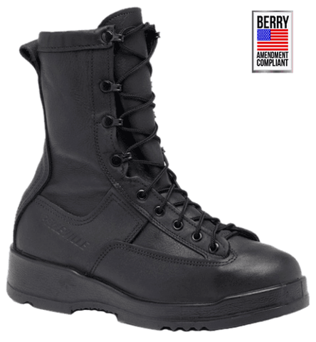 Belleville 200g Insulated Waterproof Steel Toe Boot - Black