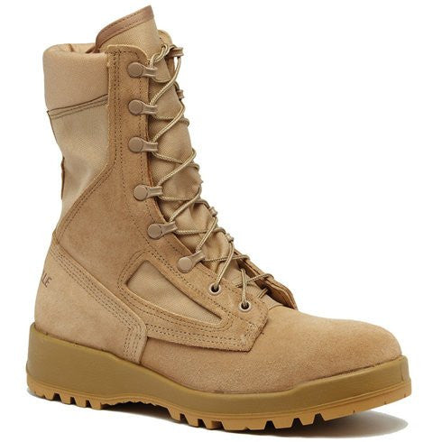 Belleville Boots 300 DES ST - Hot Weather Tan Steel Toe Boot