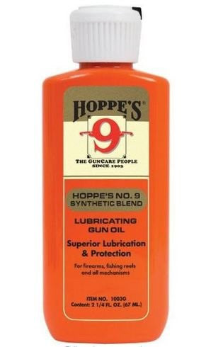 Hoppe's 9 Gun Oil Liquid 2 oz. Synthetic Blend Gun Oil 10/Box Bottle 1003G