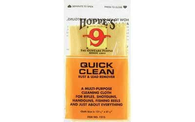 Hoppe's 9 Quick Clean Cloth Rust & Lead Remover Poly Bag 1215