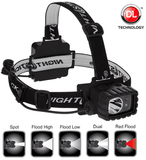 Nightstick Dual-Light Multi-Function Headlamp