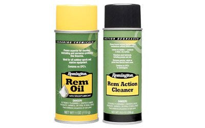 Remington Cleaning Combo Lube/Cleaner Liquid 10 oz. Oil/10 oz. Action Cleaner Aerosol Can 18154