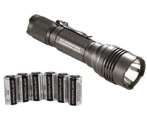 Streamlight Protac HL Tactical Flashlight with Six Extra Batteries