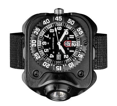 SureFire 300 Lumen Compact Wrist Light with Luminox Watch